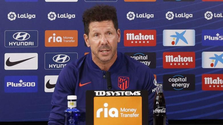 """Simeone: """"Hay que buscar otros caminos, los rivales nos conocen"""""""