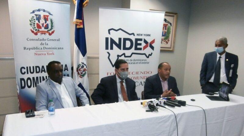 Cónsul y director del INDEX destacan impacto positivo en la diáspora del acuerdo con INFOTEP para cursos de capacitación