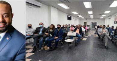 Presidente de la JRM en NY llama jóvenes a defender obras de Gobierno en RD y el exterior